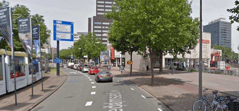 Nieuwe fase Coolsingel: afsluiting op Schiedamsedijk