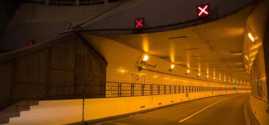 Maastunnel in beide richtingen dicht van 16 t/m 23 juli