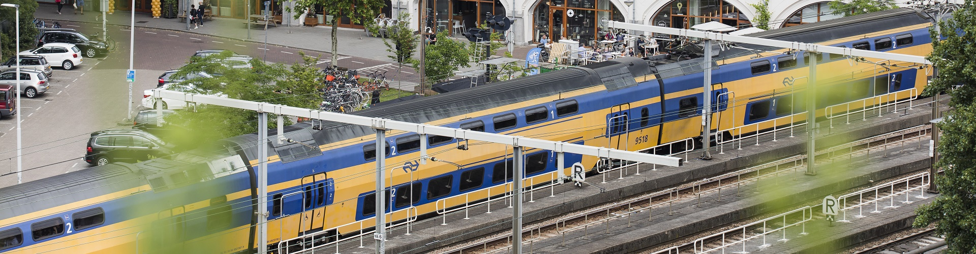 Minder openbaar vervoer in Rotterdam