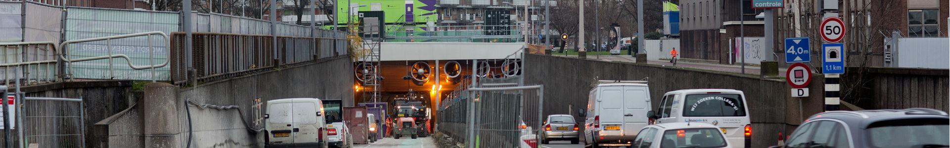 Maastunnel dicht: normale ochtendspitsen, drukkere avondspitsen