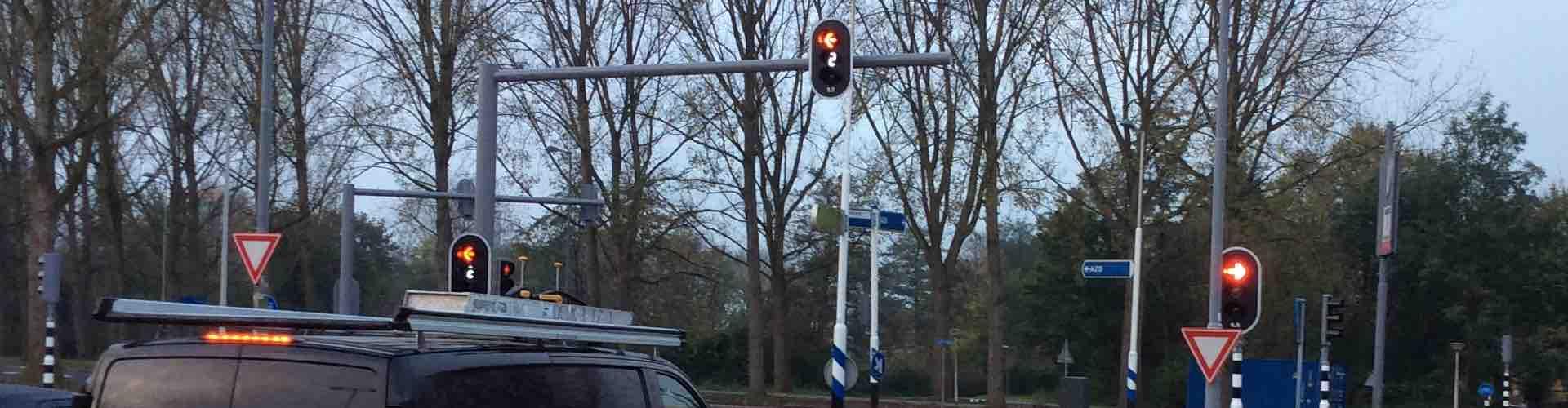 3,2,1 groen: aftellende verkeerslichten